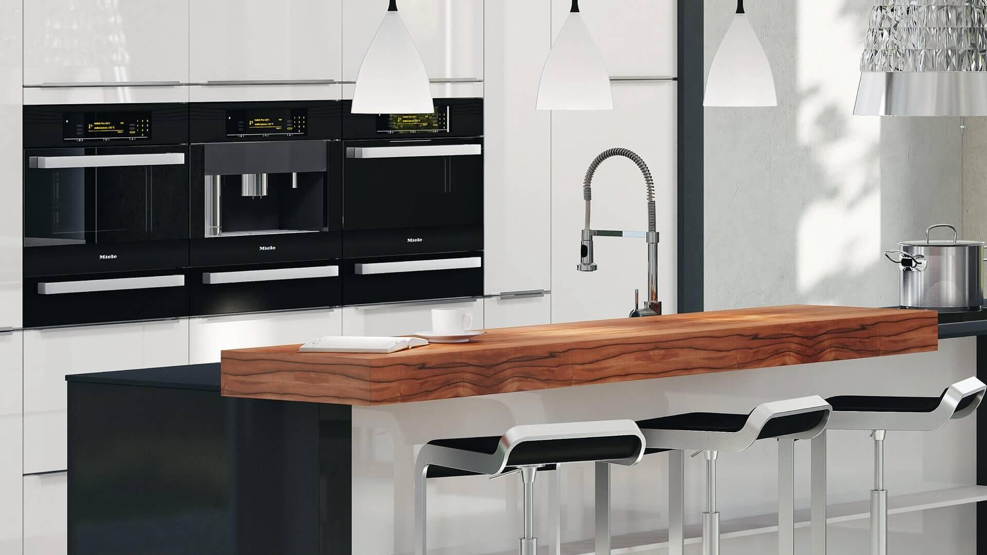Moderne Küchenarmatur mit ausziehbarer Brause,360° schwenkbar.